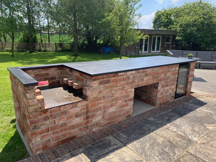 Marbonyx Stone Black Kitchen Exterior Brick Surrey